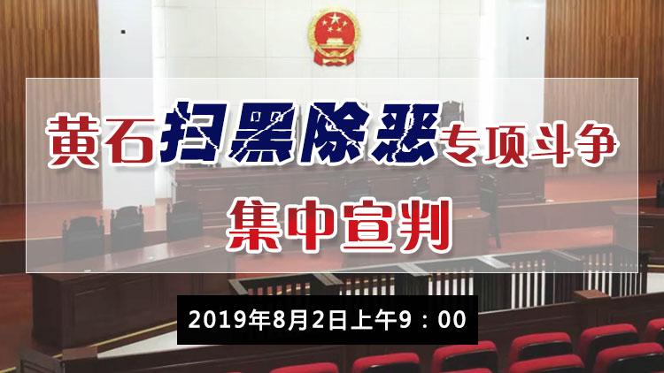 title='黄石扫黑除恶专项斗争集中宣判'